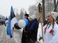 017 23. veebruar Anno Domini 2018 Pärnus. Foto: Urmas Saard