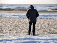 003 Aasta viimasel päeval Pärnu rannas Foto Urmas Saard