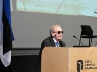 004 Aldo kals Tartu rahu sõlmimise 100. aastapäevale pühendatud konverentsil. Foto: Urmas Saard