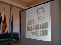 028 Ants Kaljuranna sajanda aastapäeva tähistamine. Foto: Urmas Saard
