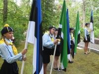 005 Audru kihelkonna kangelaste auks. Foto: Urmas Saard