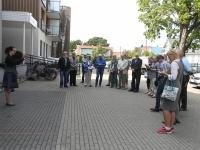 005 Balti keti otsustamise 30. aastapäeval Pärnus. Foto: Urmas Saard