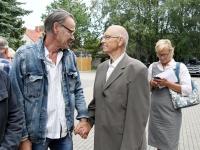 016 Balti keti otsustamise 30. aastapäeval Pärnus. Foto: Urmas Saard