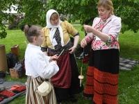 010 Baltica 2019 Tornide väljaku pärimuskülas. Foto: Urmas Saard