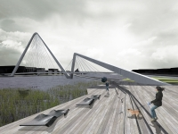 006 Britt Vaheri 3D visualiseering Pärnu kolmandast sillast