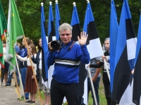 018 Eesti lipu 134. aastapäev Sindis. Foto: Urmas Saard