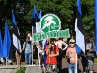 004 Eesti lipu 134. sünnipäev Pärnus. Foto: Urmas Saard