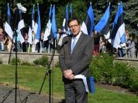 012 Eesti lipu 134. sünnipäev Pärnus. Foto: Urmas Saard
