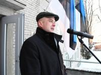 024 Eesti Vabariigi 100. juubeli hommik Sindis. Foto: Urmas Saard