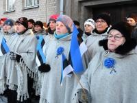 025 Eesti Vabariigi 100. juubeli hommik Sindis. Foto: Urmas Saard