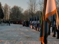 029 Eesti Vabariigi 100. juubeli hommik Sindis. Foto: Urmas Saard