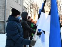 031 Eesti Vabariigi 100. juubeli hommik Sindis. Foto: Urmas Saard