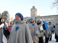 039 Eesti Vabariigi 100. juubeli hommik Sindis. Foto: Urmas Saard