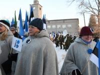 040 Eesti Vabariigi 100. juubeli hommik Sindis. Foto: Urmas Saard