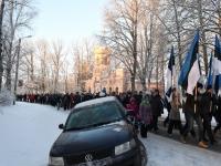049 Eesti Vabariigi 100. juubeli hommik Sindis. Foto: Urmas Saard