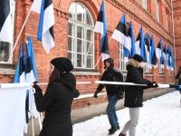 071 Eesti Vabariigi 100. juubeli hommik Sindis. Foto: Urmas Saard