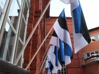 073 Eesti Vabariigi 100. juubeli hommik Sindis. Foto: Urmas Saard