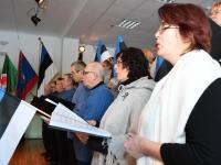 080 Eesti Vabariigi 100. juubeli hommik Sindis. Foto: Urmas Saard