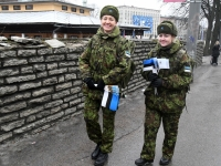 004 Eesti Vabariigi 101. aastapäeva paraad. Foto: Urmas Saard