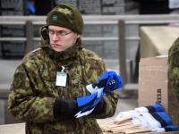008 Eesti Vabariigi 101. aastapäeva paraad. Foto: Urmas Saard
