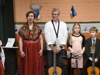 006 Eesti Vabariigi 102. aastapäeva tähistamine Metskülas. Foto: Urmas Saard