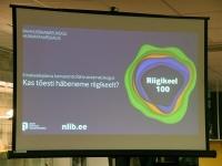 002 Emakeelepäeva konverents Rahvusraamatukogus. Foto: Urmas Saard
