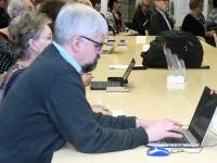 012 Emakeelepäeva konverents Rahvusraamatukogus. Foto: Urmas Saard