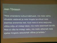 017 Emakeelepäeva konverents Rahvusraamatukogus. Foto: Urmas Saard