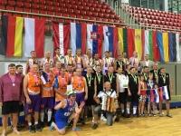 001 ESBA Euroopa meistrivõistluste seeniorkorvpallurite autasustamine