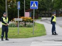 005 Esimene koolipäev teedel ja tänavatel. Foto: Urmas Saard