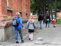 008 Esimene koolipäev teedel ja tänavatel. Foto: Urmas Saard
