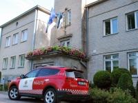 001 Euroopa lipp 28. juulil Sindi raekojal. Foto: Urmas Saard