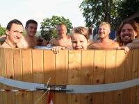 001 Folgi saun XXVI Viljandi pärimusmuusika festivalil. Foto: Urmas Saard