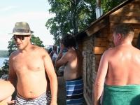 003 Folgi saun XXVI Viljandi pärimusmuusika festivalil. Foto: Urmas Saard