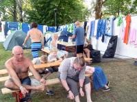 004 Folgi saun XXVI Viljandi pärimusmuusika festivalil. Foto: Urmas Saard