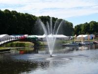 001 Grillfest Pärnus kaheksandat korda, ettevalmistus. Foto: Urmas Saard
