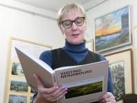 005 Heidi Vellendi viimane tööpäev Sindi muuseumis. Foto: Urmas Saard