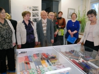 009 Helgi Tuul 70, näituse avamine Sindis. Foto: Urmas Saard