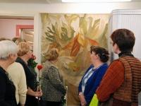 013 Helgi Tuul 70, näituse avamine Sindis. Foto: Urmas Saard