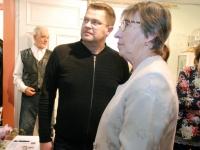 036 Helgi Tuul 70, näituse avamine Sindis. Foto: Urmas Saard