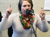001 Hommikuprogramm Tre Raadio Pärnu stuudios. Foto: Urmas Saard