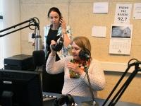 003 Hommikuprogramm Tre Raadio Pärnu stuudios. Foto: Urmas Saard