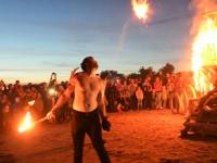 014 Iidetulede öö Pärnu keskrannas. Foto: Urmas Saard
