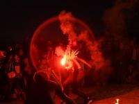 015 Iidetulede öö Pärnu keskrannas. Foto: Urmas Saard