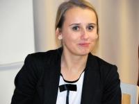 004 Haide Kuivas. Investeerimiskoolitus Pärnu Koidula gümnaasiumis. Foto: Urmas Saard