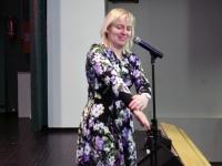 004 Irja Suvisild loenguga TÜ Pärnu kolledži Väärikate ülikoolis. Foto: Urmas Saard