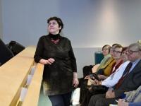 006 Irja Suvisild loenguga TÜ Pärnu kolledži Väärikate ülikoolis. Foto: Urmas Saard