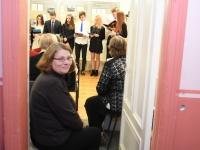 007 Jaan Poska ja Tartu rahu näituse avapäev Sindi muuseumis. Foto: Urmas Saard