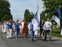 004 Jänesselja lasteaia IV laulu- ja tantsupidu. Foto: Urmas Saard