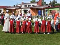 041 Jänesselja lasteaia IV laulu- ja tantsupidu. Foto: Urmas Saard